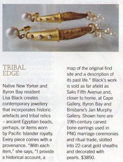 article 1: pg 14, AFR magazine, Life & Leisure, Luxury'09