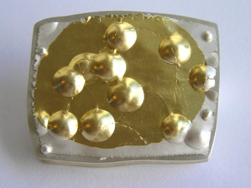 second year, 'gold' brooch