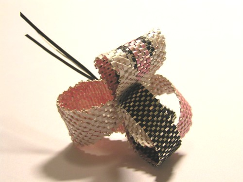 second year, woven ring