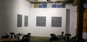 installation view; photograph with artist permission