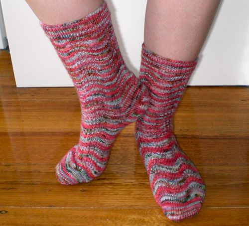 my newest pair of socks