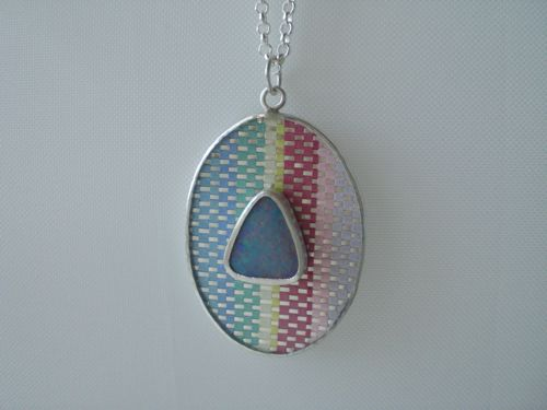 'Opal01' pendant; image not to be reproduced without permission