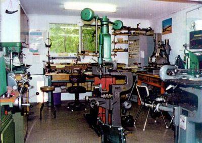Ivan's workshop