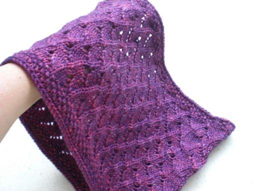 purple cowl