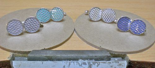 sterling silver, tiffany blue, mother of pearl, navy; image not to be reproduced without permission