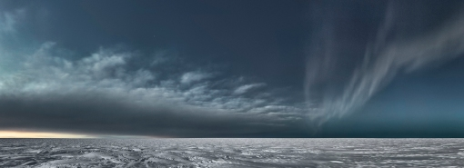 Icesheet #3373;  2013; 95 x 261 cm; digital pigment print, edition of 7; click on image for original source