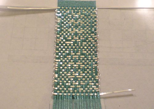 old weaving