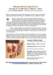 workshop information; click for larger version