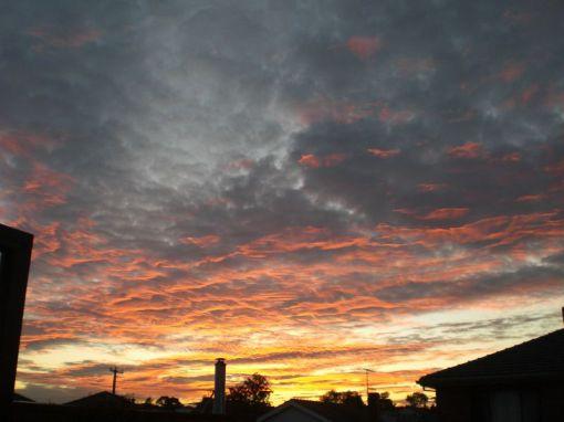 sunrise 09Aug14