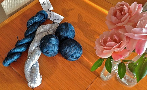 yarn and roses