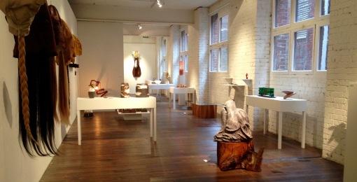 exhibition at Craft