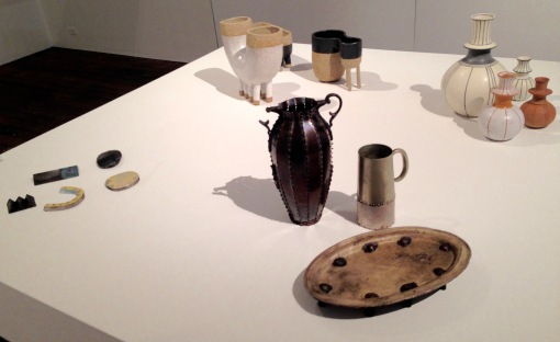 Katherine Bowman, Vito Bila, and I'm sorry but I didn't note the ceramic artitsts names