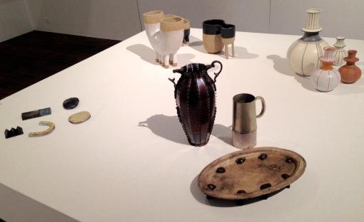 Katherine Bowman, Vito Bila, and I'm sorry but I didn't note the ceramic artitsts names