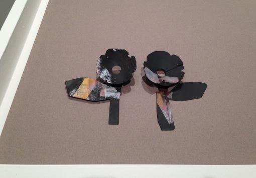 Sue Buchanan, Flower, black #6, #7